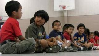 Hispanic school children