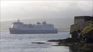 Hrossey at Shetland