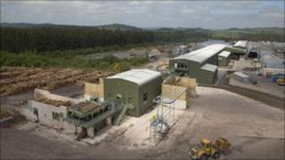 BSW's Dalbeattie sawmill
