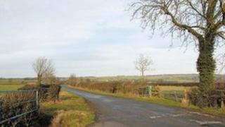 Artist's impression of a view of the site of the proposed gas plant in North Yorkshire. Picture; Moorland Energy Ltd