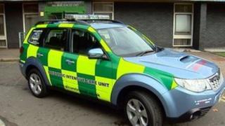 Specialist ambulance
