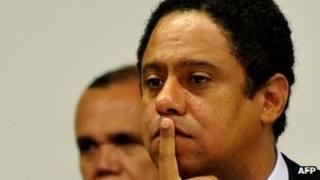 Brazilian sports minister Orlando Silva on 18 October 2011