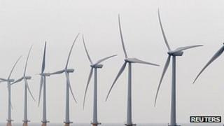 Offshore wind farm in Kent