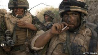 British soldiers in Helmand, Afghanistan