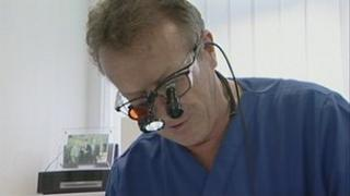 Olympic dentist Tony Clough