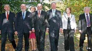The seven Irish presidential candidates