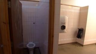 Public toilet, Cornwall