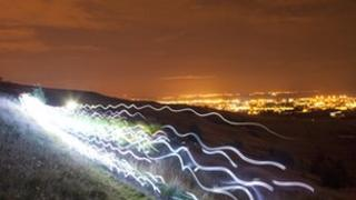 Speed of light Pic: Alan McAteer