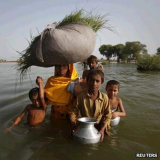 Flood in Pakistan