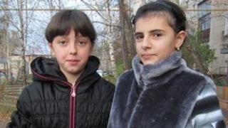 Anya Iskanderov and Irina Belyaeva