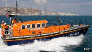Mersey class lifeboat. Pic: RNLI