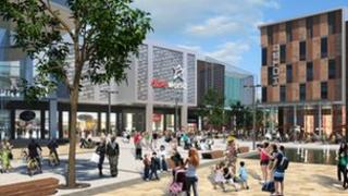 Artist's impression of the Southwater scheme