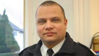 Essex Police Special Constabulary chief officer Leon Dias