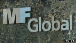 Sign outside MF Global offices