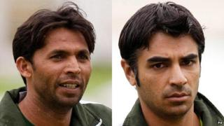 Mohammad Asif and Salman Butt
