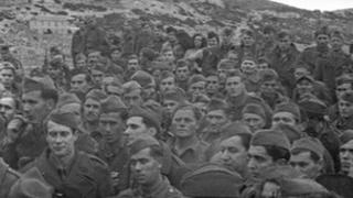 Communist partisans in Yugoslavia in 1944