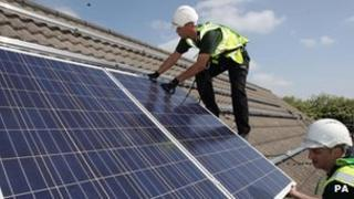 Solar panel fitters
