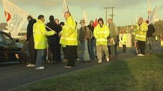 Protest at Ratcliffe-on-Soar
