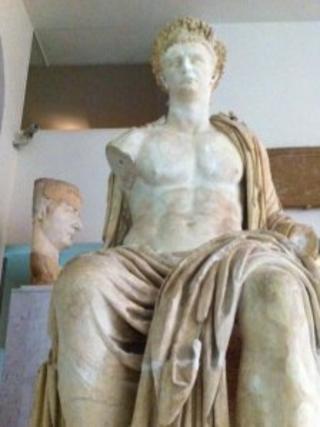 Roman statue in Libya's National Museum