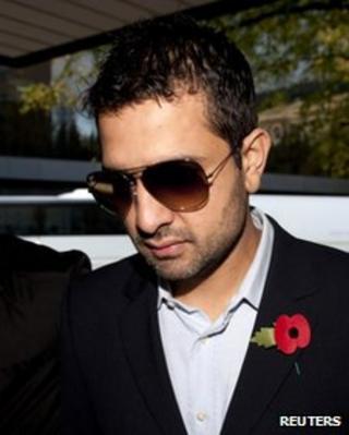 Cricket agent Mazhar Majeed
