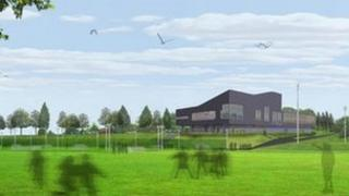 Artist's impression of the planned facility