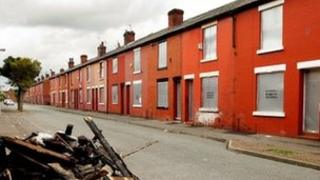 Derelict houses in Salford (file pic, 2006)