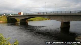 Bridge over the Foyle at Lifford