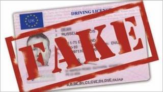 Anti-fake ID campaign poster
