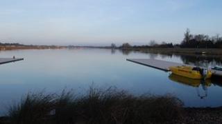 Eton Dorney rowing lake