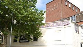 Former Guernsey brewery on Vauxlaurens site in St Julian's Avenue