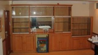 Cambridge United trophy cabinet