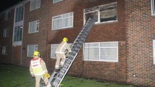 Fire at Rosslyn Court