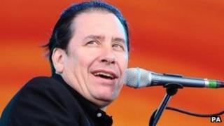 Jools Holland performing earlier this year