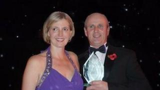 Mike Barton and his wife Bridget. Photo: Cumbria County Council