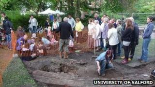 A community dig in Greater Manchester