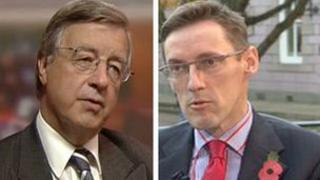 Sir Philip Bailhache and Ian Gorst
