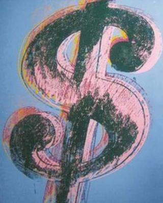 Andy Warhol's dollar