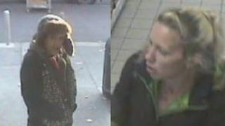 The two charity box theft suspects