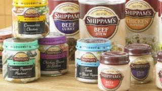 Shippams Paste jars