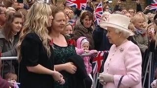 The Queen in Margate