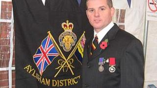 Paul McGrath, Aylsham branch of Royal British Legion