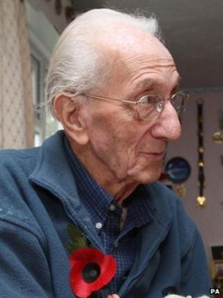 Ex-RAF mechanic Ray Hardman