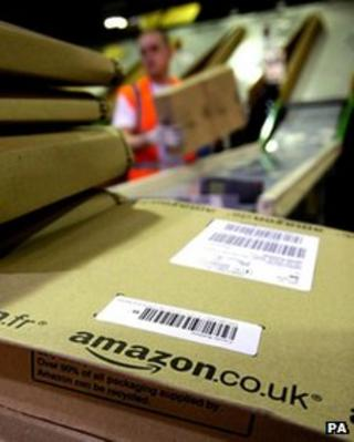 Amazon distribution centre, Scotland