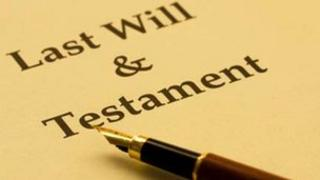 Last will and testament generic
