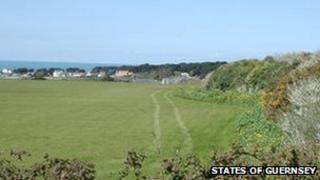 A field in Guernsey