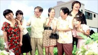 The sitcom cast