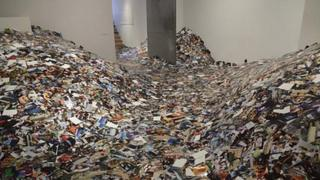 The Photography In Abundance installation by Erik Kessels. Picture courtesy of Foam Amsterdam