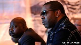 Busta Rhymes at Google Music event