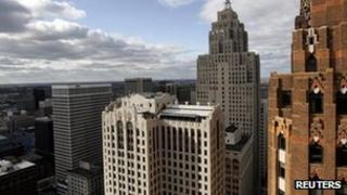 File image of downtown Detroit 11 November 200999