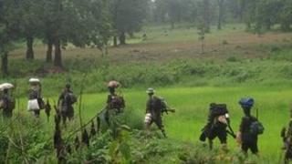 Maoists on the move in Chhattisgarh